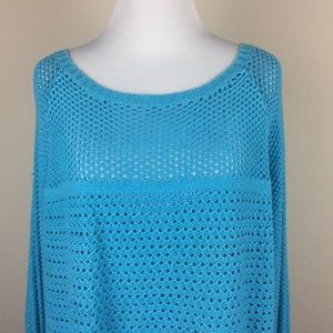 Michael Kors Sweaters - 🛍 3 for $15 🛍 Michael Kors Blue Knit Sweater